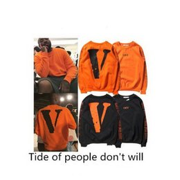 Wholesale Friends Sweater - VLONE TEE Logo Friends Long-sleeved sweater (ALL SIZE) ASAP Bari Coat hedgin