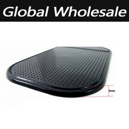 Wholesale Car Skidproof Dashboard - Wholesale-Universal Car Dashboard Silicone Rubber Skidproof Multi Mobile Phone Holder Mat Anti Non Slip Gadget Mobile Phone GPS Holder
