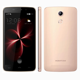 Wholesale Gold Pro Card - 4G LTE HOMTOM HT17 Pro Touch ID Quad Core MTK6737 2GB 16GB 5.5 inch IPS 1280*720 HD Android 6.0 13.0MP Camera Fingerprint Scanner Smartphone