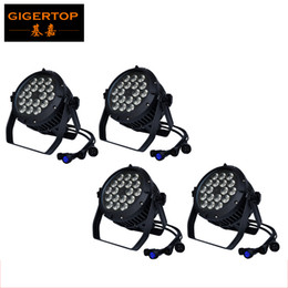 Wholesale High Power Led Work Lights - TIPTOP TP-P105C 18*18W RGBW Amber Purple Waterproof Led Par Light 6in1 DMX 6 10 Channels High Power Indoor Outdoor Silent Quite Working