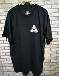Wholesale Basic Summer Tees - 2017 New Palace Skateboards Classic Triangle Print Mens T Shirt For Men Basic Summer Noah Clothing Cotton Short Sleeve Tees Tops
