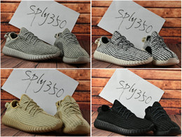 Wholesale Lace Cut Out Oxfords - 2017 Wholesale Kanye Milan West Boost 350 Boost Discount Moonrock Oxford Tan Pirate Black Turtle dove Men's Sports Running Shoes With Box