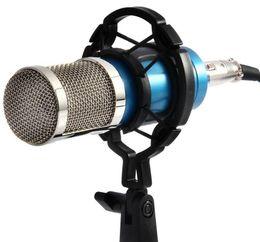 Wholesale Cell Phone Recording Microphone - 2017 NEW Audio Condenser Microphone FLOUREON BM800 Studio Sound Recording Shock Mount for Recording Kit KTV Karaoke high quality