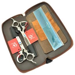 Wholesale Thinning Scissors Kit - 6.0Inch Meisha Professional Hair Scissors kits Hairdressing Cutting Shears Thinning Scissors Salon Hair Styling Tools JP440C,HA0289