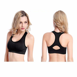 Wholesale Best Price Rims - Female Shock Absorbing Quick Fast Dry Gym Fitness Running Sports Bra No Rims Full Cup Athletic Vest Underwear Best Price wholesale