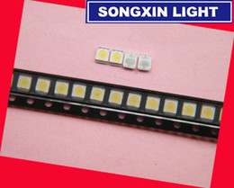 Лампа lg онлайн-Wholesale- FOR Original LG LED LCD TV backlight lamp  lens 1W 3v 3528 2835 cool white light bead