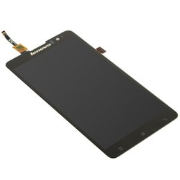 Wholesale Resistive Lcd Touch - Wholesale- 100% Original New For Lenovo S8 S898t Black Full LCD Display + Digitizer Touch Screen Assembly free tools
