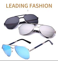 faltende sonnenbrille polarisiert Rabatt 2017 neue polarisierte sonnenbrille für männer frauen helle farbe großen rahmen klapperkröte spiegel Britische mode modelle fahren sonnenbrille 344