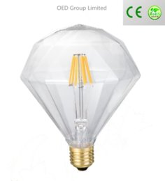 Porcellana bulbo principale online-G95 Dimmable Edison Style Antique Bulbs 2w 4w 6w 8w Dacorative COB Filamento LED Bulb Cina