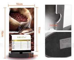 Wholesale Price Listing - Acrylic menu list poster price sign frame holder stand display rack revolving
