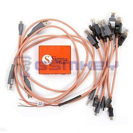 Wholesale Qualcomm Phones - Sigma Key Box with 9 cables for the latest MTK, TI OMAP, Broadcom and Qualcomm based phones