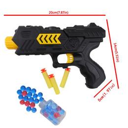Wholesale Crystal Guns - Gun Soft Toy Bullet Water Pistol Gift Kids Crystal Bullets CS Shooting Game Set
