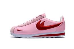 pink running shoes for ladies sconti scarpe da corsa in nylon da corsa femminile delle cortez