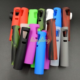 Wholesale Ecigs Ego Kits - Ecigs E-cigarettes Colorful Joyetech eGo Aio Silicone Case Cover Silicone Rubber Sleeve Protective Cover for eGo Aio Starter Pen Kits