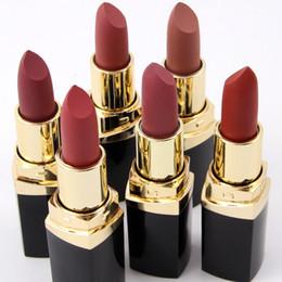 Wholesale Makeup Miss - Authentic Miss Rose Matte Lipstick 24pcs set Makeup Matte Lipstick Long-Lasting Lip Stick 6 Colors each series