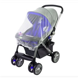 Wholesale Type Mosquito Gauze - Wholesale-Baby Strollers Mosquito Net Infact Carriers Car Seats Cradles Crib Netting