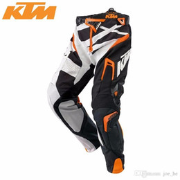 Wholesale Dirt Bike Ktm - Brand-KTM Racetech pants Motorcycle pants Dirt Bike MTB DH MX Riding Trousers KTM motocross racing pants free shipping