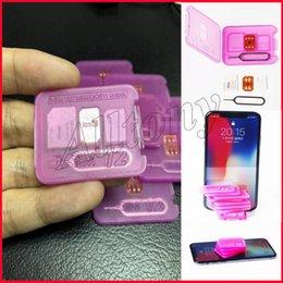 Wholesale Perfect Card - Rsim 12+ r sim 12+ RSIM11 + r sim12 + plus1 perfect SIM card automatically unlocks the official IOS for iPhone 7 unlocks iOS black gold chip