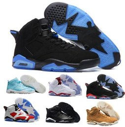 Wholesale Real Gold Men - Best Retro 6 VI Basketball Shoes Women Men's Retros J6s VI Real Replicas Man Retro Shoes Hombre Basket Sneakers