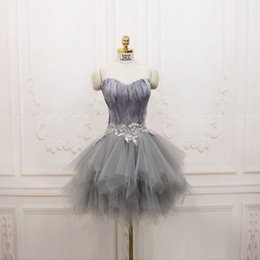 Wholesale Sweet 16 Feather Gown - 2017 Real Photo Feather Cheap Short Corset Homecoming Dresses Custom Made Under 100 Mini Sweet 16 Lace-up Actual Picture Cocktail Prom Gowns
