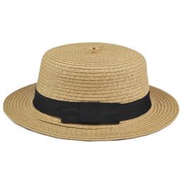 Wholesale Summer Womens Foldable Hats - Wholesale- 2017 Hot Style Sweet Womens Ladies Summer Beach Sun Visor Bowknot Floppy Foldable Straw Hat
