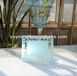 Wholesale Card Making China - Wholesale- hot wholesale wedding decoration laser cutting handmade thank you card made in china