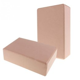 Wholesale Pink Yoga Block - Wholesale- 2 Peace Yoga Blocks Support and Deepen Poses Improve Strength And Aid Balance And Flexibility Lightweight Soft Yoga Blocks