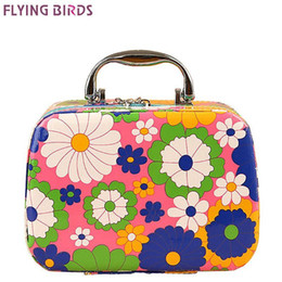 Wholesale Travelling Jewelry Display Cases - Nice- FLYING BIRDS Women Cosmetic Cases Capacity Large Cosmetic Bags Box Makeup Bag Beauty Case Travel Jewelry Display Case LM2512fb