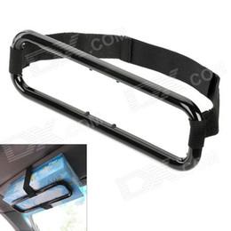 Wholesale Tissue Holder For Car Visor - Wholesale- Tissue Boxes Holders Car Visor Tissue Paper Plastic Box Holders for Back Seat Fashion - Black