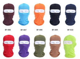 Wholesale Black Orange Wig - Balaclava Mask Windproof Full Face Neck Guard Masks Ninja Headgear CS Hat Riding Hiking Outdoor Sports Bicycle Cycling Masks sunscreen wigs