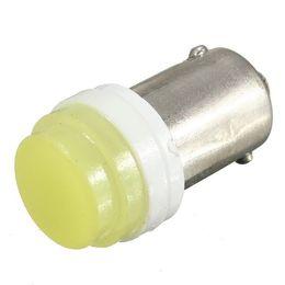 Bombillas de luz blanca pura online-100pcs BA9S 2W de cerámica COB Pure White LED lámpara de la placa del coche bombilla de la lámpara DC12V