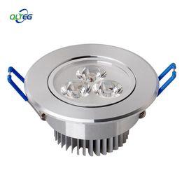 Venta al por mayor - 1pcs / lot 3W Techo downlight Epistar LED lámpara de techo redonda Empotrada Spot light AC85-265V para la iluminación del hogar desde fabricantes