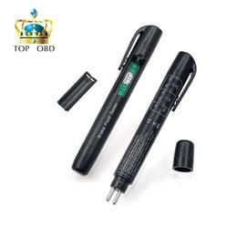 Wholesale Universal Diagnostic Tester For Cars - Wholesale- 2017 new Brake Fluid Tester universal 5 LED Mini Electronic Brake Fluid Liquid Tester Pen for Auto Car Vehicle Diagnostic Tools