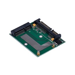 Wholesale Factory Converter - Wholesale- Factory price High Quality mSATA SSD To 2.5Inch SATA 6.0 Gps Adapter Converter Card for hdd drive Free Shipping&Wholesale 1 pcs