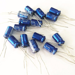 Wholesale Audio Electrolytic Capacitors - Wholesale-50pcs 330uF 6.3V Japan ELNA RE3 6.3x11mm 6.3V330uF Audio Capacitor
