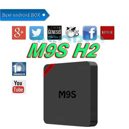 Acheter en ligne Mini box hd-Nouvelle arrivée MINI M9S 1G + 8G Android Smart Tv Box allwinner H2 Quad-Core HDMI 2.0 OTT TV Box 2.4G Wifi Media Player VS MXQ PRO 4K M8S