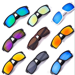 Reflektierende hochwertige sonnenbrille online-2017 neue Hohe Qualität Sonnenbrille Männer Mit Doktor Designer Begrenzte Sommer Sport Sonnenbrille Reflektierende 13 Farbe ak093