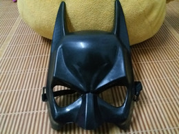 Wholesale Dark Knight Batman Costume - Dark Knight Child Batman Mask Mardi Gras Party Mask Costume Decoration Costume Masquerade Theme (Black) One Szie Fit Most