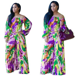 Wholesale Dresses Jumpsuits - 2017 african dresses for women dashiki dress pants print in traditinal clothing for woman dashiki dress clothing H9123 Jumpsuits