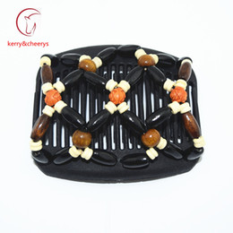 Wholesale Hot Magic Comb - Free shipping Valentine's day gift magic hair combs Hot Sell on TV fashion hairclip stretch comb hair jewellery for beautiful hai