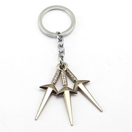 Wholesale men gift product - New Product Naruto Metal Keychain Fashion Woman Car Key Ring Man Gift anime product
