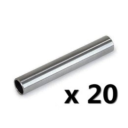 Wholesale Stainless Steel Grip Tubes - Wholesale-20 Pc Tattoo 304 Stainless Steel gun Machine Back Stem Tube Grip Tip Needle Supply