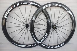 2019 kohlenstoff-straßenräder china 700C Racing Fahrrad Carbon Räder 50mm FFWD Carbon Rennrad Laufradsatz Drahtreifen 23mm Breite Kader Carbone