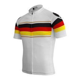 Customized NEW Hot 2017 Germany JIASHUO mtb road RACING Team Bike Pro  Cycling Jersey Shirts   Tops Clothing Breathing Air 4690bf563