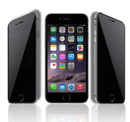 Iphone 5.5 schirmschutz anti blendung online-Ausgeglichenes Glas-Film-Schirm-Schutz Blendschutz mit Papierpaket für iPhone 6 4.7 5.5 4 4s 5 5s 5c