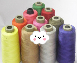 Wholesale Umbrella Machines - Colorful Tent Polyester waterproof line use for raincoat umbrella vehicle thread line sale for roll DIY garment accessories sewing supplies