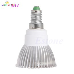 Al por mayor- 18 LED Grow Light Lamp Veg Flower planta hidropónica de interior completo espectro 18 W E27 E14 GU10-2F desde fabricantes