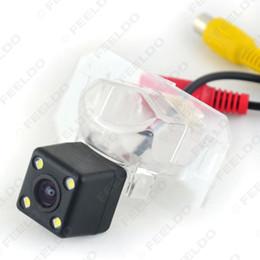Wholesale Rear Light For Honda - FEELDO CCD Rear View Car Camera with LED light for Honda 2012 CRV Fit 2008(Hatchback Sedan) Crosstour SKU:#4702