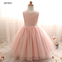 Wholesale Teenager Pageant Dresses - Elegant Ceremony Dresses For Baby Girl Costume Carnaval Fashion Kid Lace Party Dress Children Pageant Frock Teenager Graduation Prom