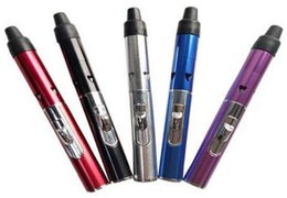 Wholesale Lady Vaporizer - Slim lady 7 Colors Click N Vape smoking pipe Mini Herbal Vaporizer Trouch Flame Lighter with built-in Wind Proof Torch Lighters Hookah
